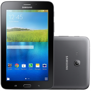 "Tablet Galaxy Tab E 7.0 T113NU Preto Tela 7""  WiFi   Android 4.4   2MP   8GB (Emb. contém 1un.) - Samsung"