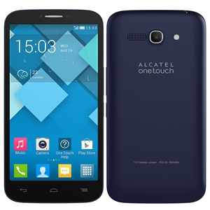 "Smartphone Alcatel OT7047E Pop C9  Cinza  Dual Chip  Tela 5.5""  3G+WiFi  Android 4.2  Quad Core 1.3Ghz 8MP 4GB (Emb. contém 1un.)"