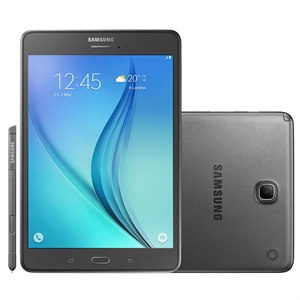 "Tablet Samsung Galaxy TAB A  Tela 8""  P355M  com S-Pen  4G+WiFi  Android 5.0  Quad Core 1.2Ghz  5MP 16GB (Emb. contém 1un.)"