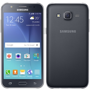 "Smartphone Galaxy J5 Duos J500M Preto  Dual Chip  Tela 5""  Full HD  4G+WiFi  Android 5.1  Quad Core 1.2Ghz  13MP e 5MP 16GB (Emb. contém 1un.) - Samsung"