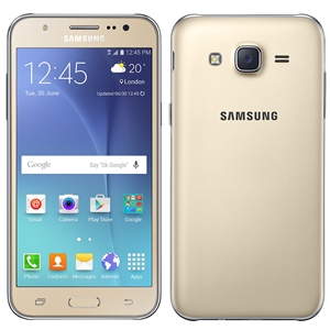 "Smartphone Galaxy J5 J500M  Dourado  Dual Chip  Tela 5""  4G+WiFi  Full HD  Android 5.1  Quad Core 1.2Ghz  13MP e 5MP 16GB (Emb. contém 1un.)"