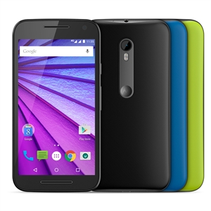 "Smartphone  Novo Moto G 3ª Geração Colors   Dual Chip   Preto   Tela 5""  4G+WiFi   Android 5.1   13MP   16GB   TV Digital (Emb. contém 1un.) - Motorola"