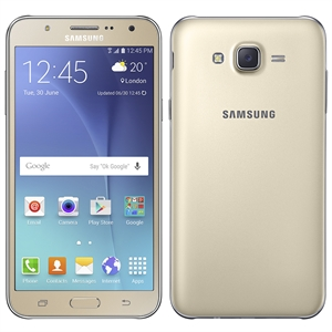 "Smartphone Galaxy J7 Duos J700M  Dourado  Dual Chip  Tela 5.5"" Super Amoled Full HD  4G+WiFi  Android 5.0  Octa Core 1.5Ghz  13MP e 5MP 16GB (Emb. contém 1un.) - Samsung"