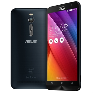 "Smartphone Zenfone 2 ZE551ML Preto  Dual Chip  Tela 5.5""  4G+WiFi  Android 5  Quad Core 1.8Ghz  13MP 16GB (Emb. contém 1un.) - ASUS"