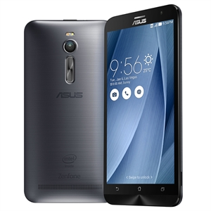 "Smartphone ASUS Zenfone 2 ZE551ML  Prata  Dual Chip  Tela 5.5""  4G+WiFi  Android 5.0  Quad Core 1.8Ghz  13MP 16GB (Emb. contém 1un.)"
