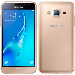 "Smartphone Samsung Galaxy J3 J320M  Dourado  Dual Chip  Tela 5"" Super Amoled  4G+WiFi  Android 5.1  Quad Core 1.5Ghz  8MP 8GB (Emb. contém 1un.)"