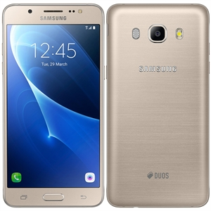 "Smartphone Samsung Galaxy J5 Metal  510MN  Dourado  Dual Chip  Tela 5.2""  4G + Wi-Fi + NFC  Super Amoled  Full HD  Android 6.0  Quad Core 1.2Ghz  13MP e 5MP  16GB  2GB RAM (Emb. contém 1un.)"