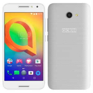 "Smartphone Alcatel A3 5046JH  Branco  Dual Chip  Tela 5"" IPS HD  4G+WiFi  Android 6  Quad Core 1.25Ghz  8MP e 5MP 16GB TV Digital (Emb. contém 1un.)"