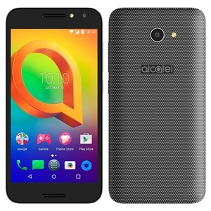 "Smartphone Alcatel A3 5046JH  Preto  Dual Chip  Tela 5"" IPS HD  4G+WiFi  Android 6.0  Quad Core 1.25Ghz  8MP e 5MP Wide Self com Flash  16GB TV Digital (Emb. contém 1un.)"