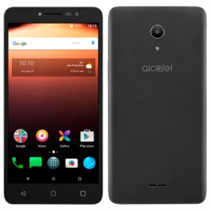 "Smartphone Alcatel A3 XL 9008J  Cinza  Dual Chip  Tela 6"" IPS HD  Android 7.0  Quad Core 1.1Ghz  8MP + 5MP com Flash  16GB (Emb. contém 1un.)"