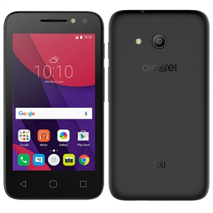 "Smartphone PIXI4 4034E Light Preto  Dual Chip  Tela 4""  3G+WiFi  Quad Core 1.3Ghz  Android 6.0  8MP e 5MP 8GB  2 Capas (Emb. contém 1un.) - Alcatel"