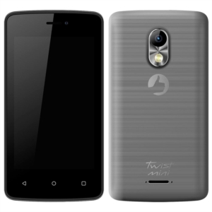 "Smartphone Positivo Twist Mini S430 Cinza  Dual Chip  Tela 4""  3G+WiFi  Android 6.0  8MP 8GB (Emb. contém 1un.)"