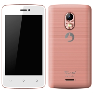 "Smartphone Positivo Twist Mini S430 Rosa  Dual Chip  Tela 4""  3G+WiFi  Android 6.0  8MP 8GB (Emb. contém 1un.)"