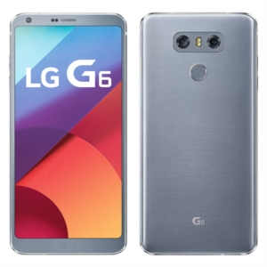 "Smartphone LG G6 H870 Platinum  Single Chip  Tela 5.7""  4G+Wifi  Android 7.0  Quad Core 2.35Ghz  13MP 32G (Emb. contém 1un.)"