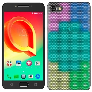 "Smartphone Alcatel A5 5085J  Prata  Dual Chip  Tela 5.2""  Android 6.0  Octa Core 1.5Ghz  16MP e 8MP com Flash  16GB + Capa LED (Emb. contém 1un.)"