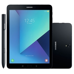 "Tablet Samsung Galaxy Tab S3  Preto  Tela 9.7""  4G+WiFi  Android 7.0  13MP  32GB"