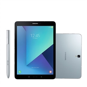 "Tablet Samsung Galaxy Tab S3  Prata  Tela 9.7""  4G+Wi-Fi  Android 7.0  13MP  32GB"