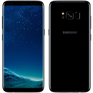 "Smartphone Samsung Galaxy S8+  Dual Chip  Preto  Tela 6.2""  4G+WiFi+NFC  Android 7.0  12MP  128GB"