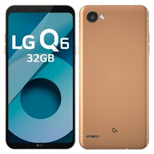 "Smartphone LG Q6 M700TV Rose Gold  Tela 5.5""  Android 7.0  Octa Core 1.4Ghz  13MP e 5MP  3GB RAM  32GB (Emb. contém 1un.)"