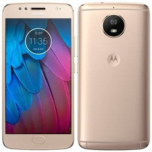 "Smartphone Motorola Moto G5s  Dual Chip  Ouro  Tela 5.2"" 4G+WiFi  Android 7.1  16MP  32GB"
