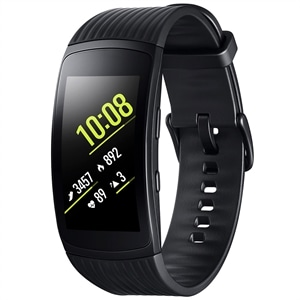 "Smartwatch Samsung Galaxy Gear Fit2 Pro Grafite  Pulseira Grande  Tela Curva 1.5""  AMOLED  4GB  Wi-Fi  Bluetooth e GPS"