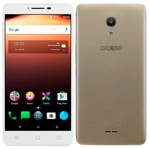 "Smartphone Alcatel A3 XL Max  Dual Chip  Dourado  Tela 6""  4G+WiFi  Android 7.0  8MP  32GB"