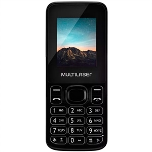 Telefone Celular Multilaser NEW UP P9032  Preto  Dual Chip  32MB Câmera VGA MP3 Bluettooth (Emb. contém 1un.)