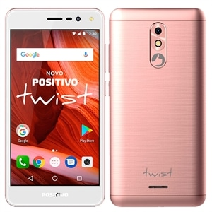 "Smartphone Positivo Twist  Dual Chip  Rosa  Tela 5""  3G+WiFi Android 7.0  8MB  16GB"