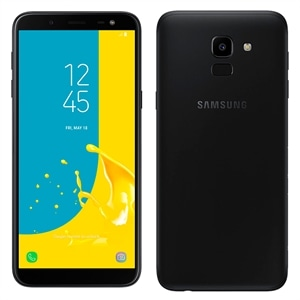 "Smartphone Samsung Galaxy J6 Preto  Dual Chip  Tela 5.6""  4G+WiFi  Android 8.0  13MP  64GB  TV Digital"