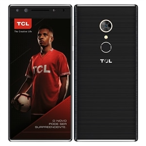 "Smartphone TCL T7  Dual Chip  Preto  Tela 5.7""  4G+WiFi  Android 7.0  16MP  Câmera Frontal Dupla 13MP+5MP  32GB"
