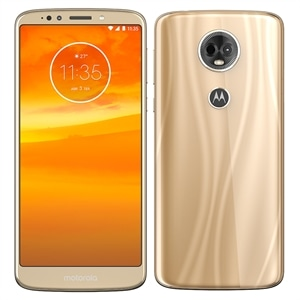 "Smartphone Motorola Moto E5 Plus  Dual Chip  Ouro Tela 6""  4G+WiFi  Android 8.0  12MP  16GB"