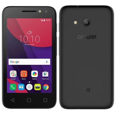Smartphone Alcatel PIXI4 4034 Light Preto, Dual Chip, Tela 4