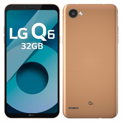 Smartphone LG Q6 M700TV Rose Gold, Tela 5.5