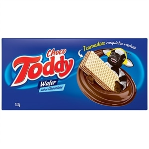 Biscoito Toddy Wafer Chocolate (Emb. contém 45un. de 132g cada)
