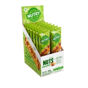 BARRA C.NUTS NUTRY SEM.12X30G
