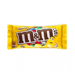 CONFEITO M&M AMENDOIM 18X45G