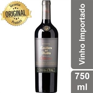 Vinho Importado Chileno Concha Y Toro Casillero Del Diablo Devil's Collection Red Blend Tinto (Emb. contém 1un. de 750ml)