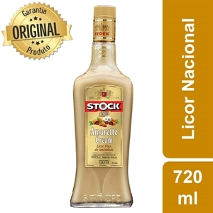 Licor Gold Amaretto Cream (Emb. contém 1un. de 720ml) - Stock
