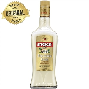 Licor Stock Gold  Pina Colada Cream (Emb. contém 1un. de 720ml)