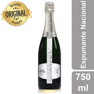 Espumante Chandon Riche Demi-Sec (Emb. contém 1un. de 750ml)