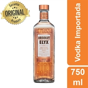 Vodka Importada Absolut Elyx (Emb. contém 1un. de 750ml)