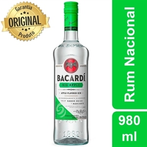 Rum Bacardi Big Apple (Emb. contém 1un. de 980ml)