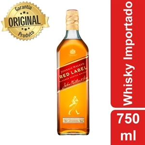 Whisky Importado Johnnie Walker Red Label (Emb. contém 1un. de 750ml)