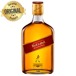 Whisky Importado Johnnie Walker Red Label 8 Anos (Emb. contém 1un. de 350ml)