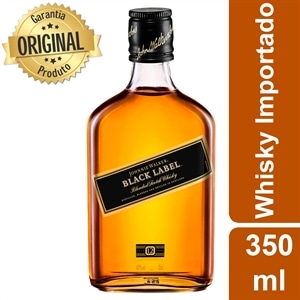 Whisky Importado Johnnie Walker Black Label 12 Anos (Emb. contém 1un. de 350ml)