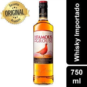 Whisky Importado The Famous Grouse Escoces (Emb. contém 1un. de 750ml)