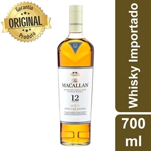 Whisky Importado Macallan Fin Oak 12 Anos Single Malt Escoces (Emb. contém 1un. de 700ml)