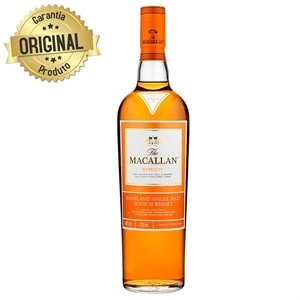 Whisky Escocês Amber Single Malt Super Premium Garrafa 700ml